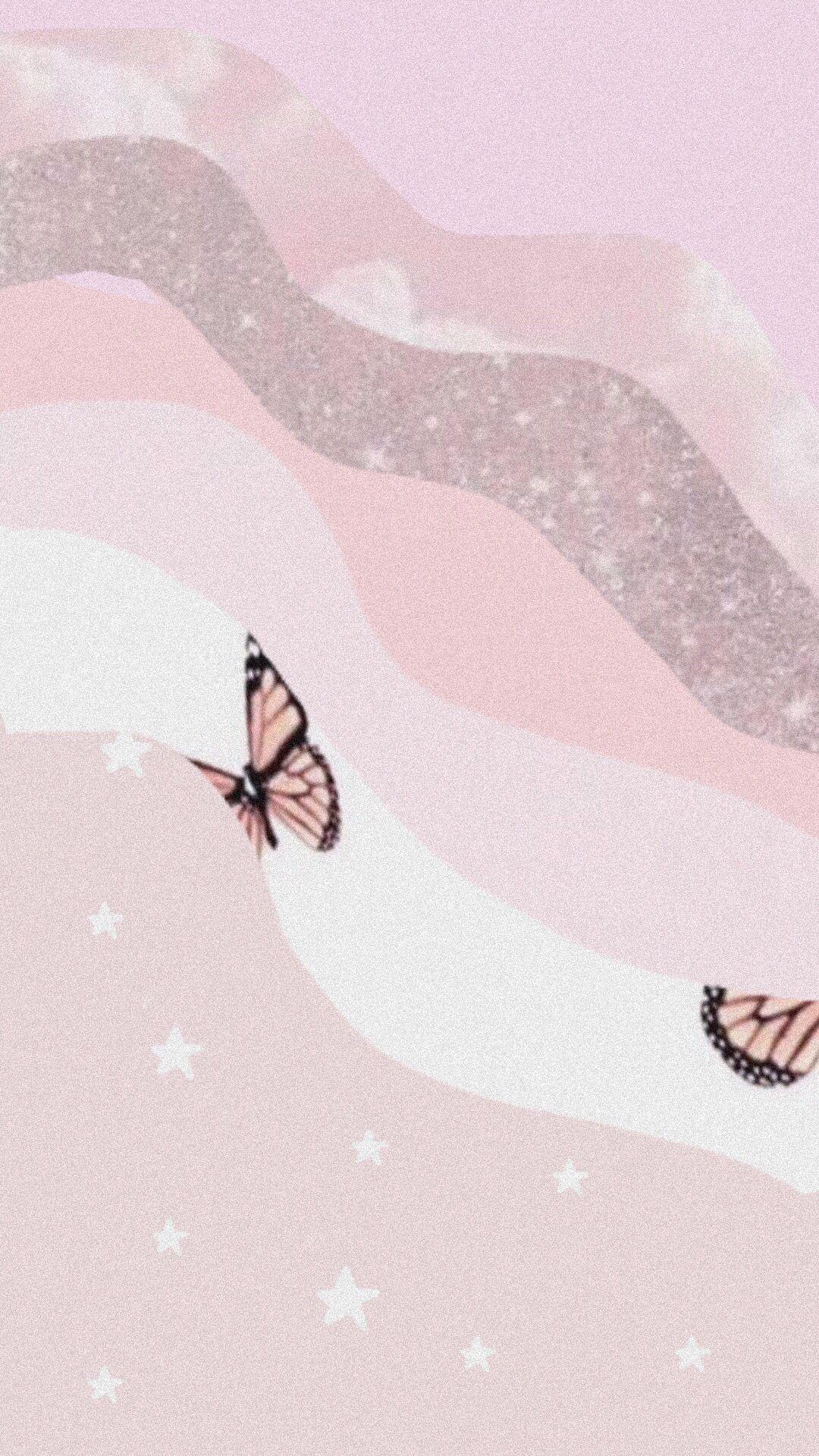 Pink Vsco Background Pink Neon Wallpaper Butterfly Background Pink Wallpaper Backgrounds