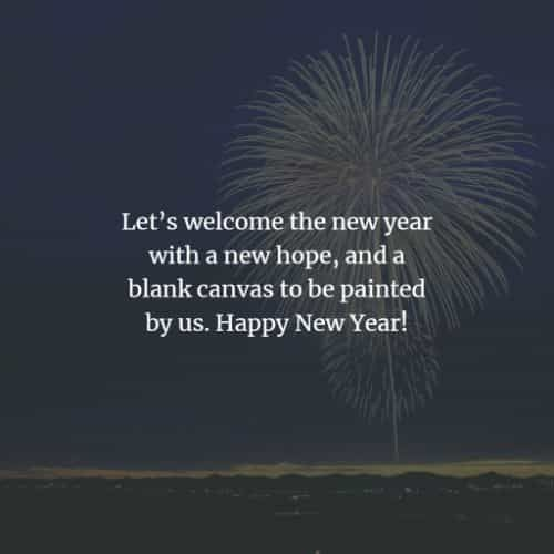 58 Happy New Year wishes and Happy New Year messages