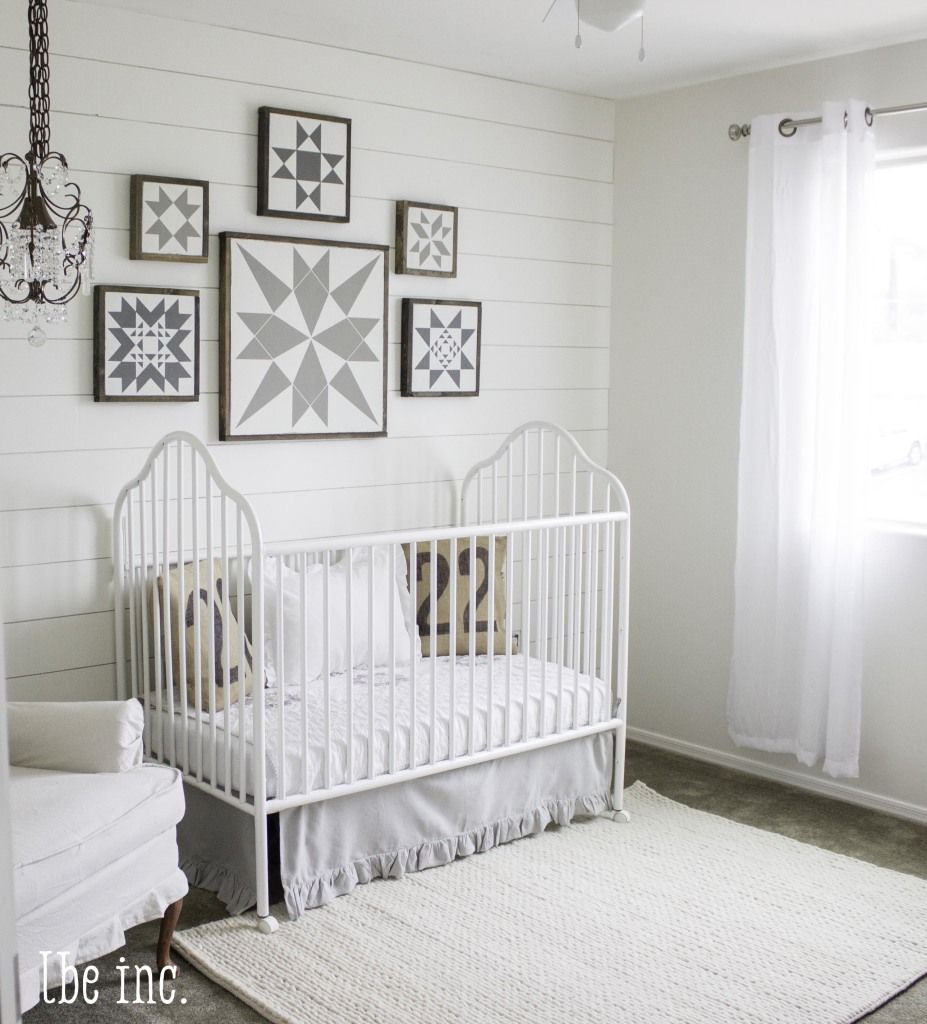 Blush Nursery With Neutral Textures: Featuring Rugs USA's Textures Handmade Wool Cable Rug