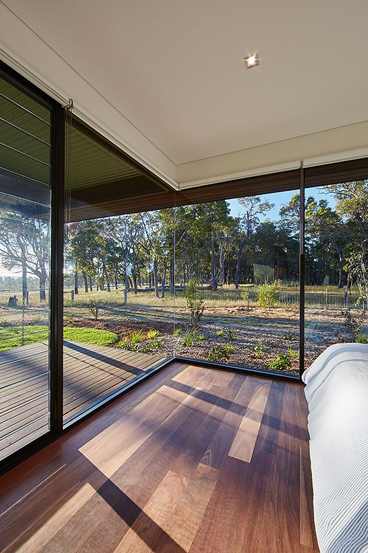 modern australian farm house with passive solar design - Fjord Solar Home Plans