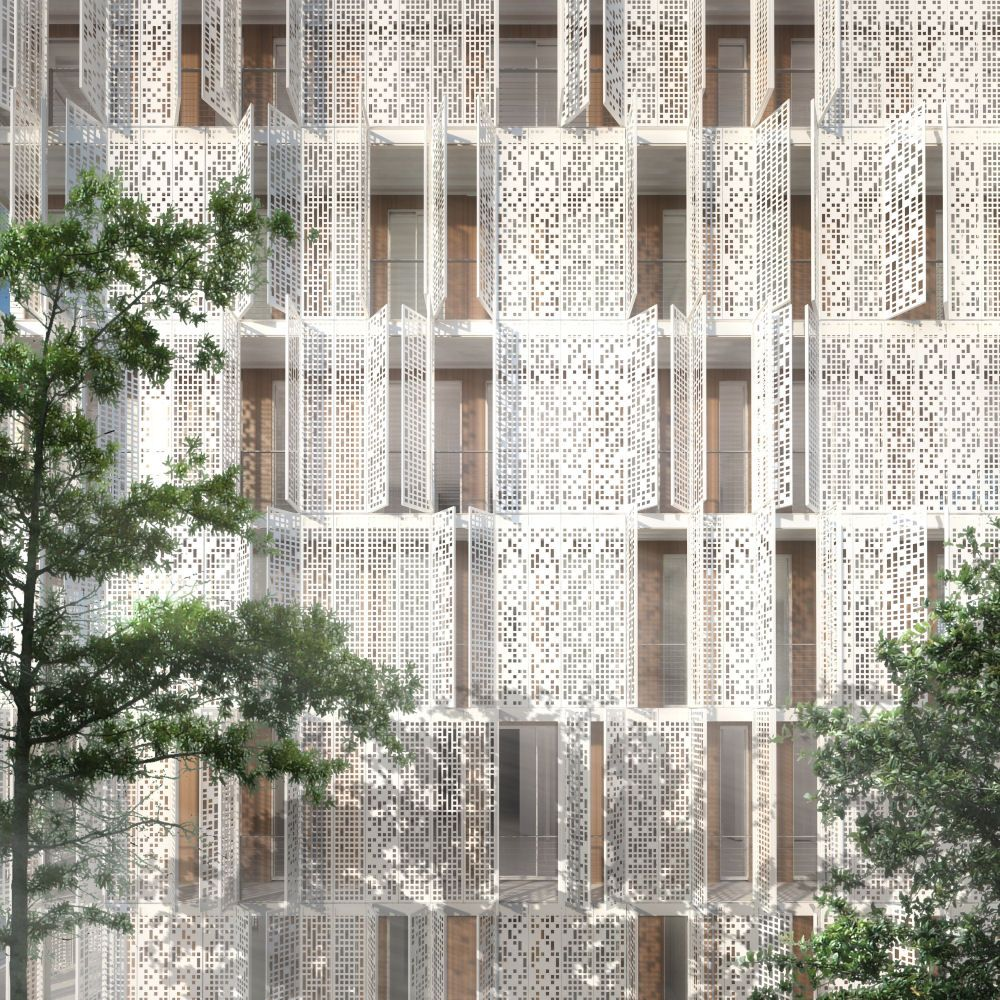 Building Sanction By Pierce Conner Architects Finally Found You... Facade  PatternArchitecture ...