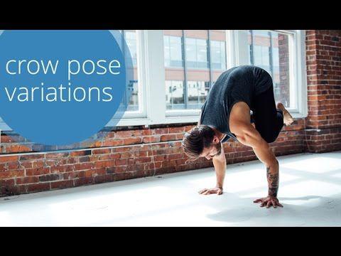 crow pose  yoga variations with patrick beach
