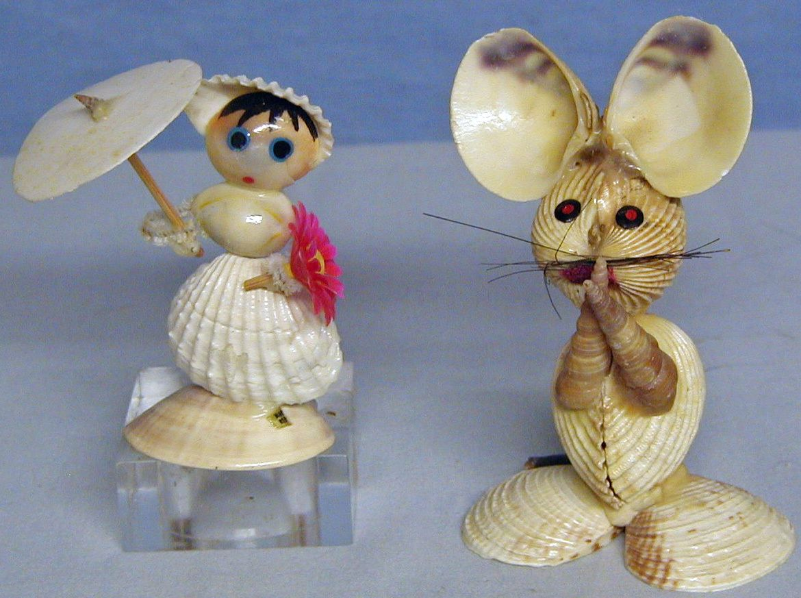 Coquillages et sable on pinterest seashells sea shells for Arts and crafts with seashells