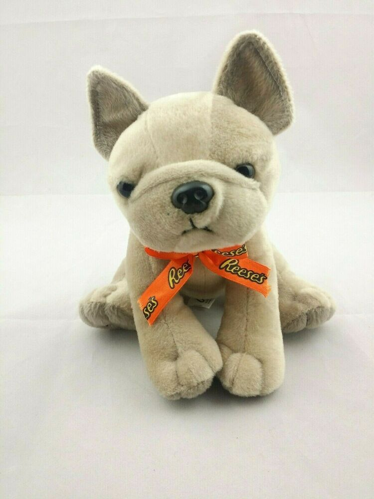 Reese S French Bulldog Stuffed Animal Toy Candy Advertising Cute
