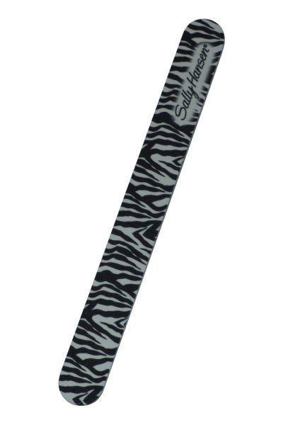 Επαγγελματική λίμα νυχιών, 2πλής όψης από την Sally Hansen, σε zebra print.