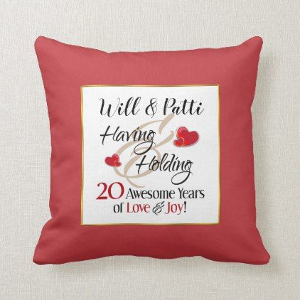 Love Wedding Gifts | Zazzle #20thanniversarywedding