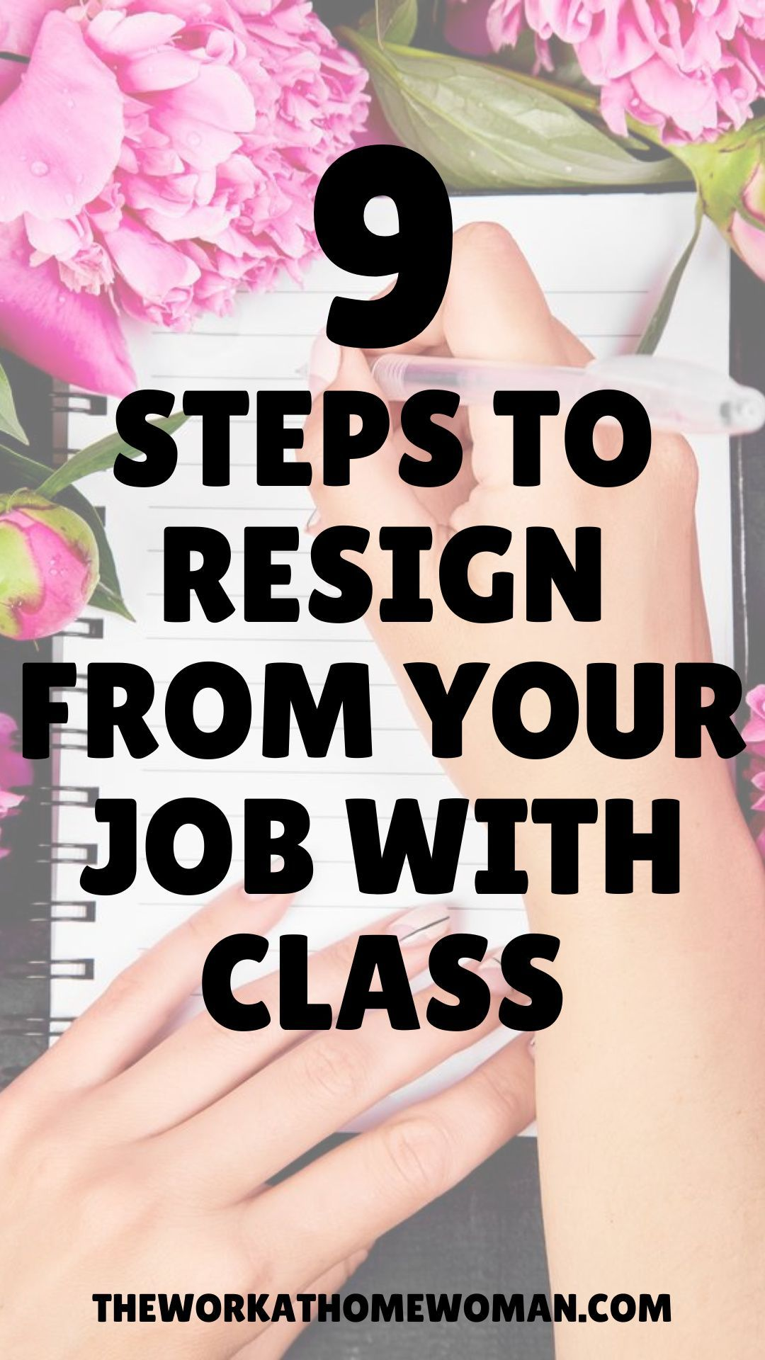 9 steps to resign from your job with class in 2021 job