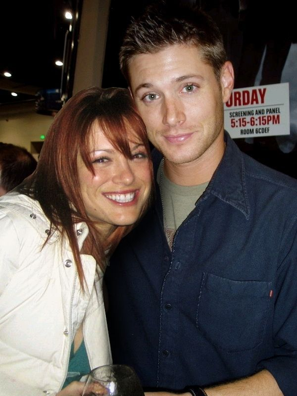 Danneel and Jensen #Ackles Cute Candid