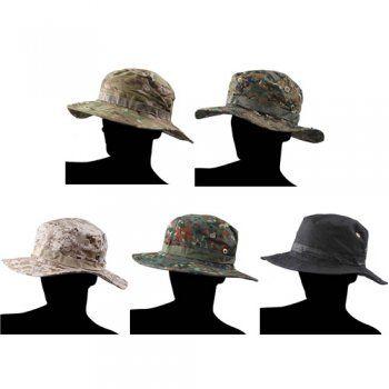 Chapeau rond Jungle (cinq couleurs)