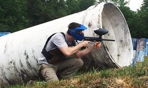 Groupon Paintball Package For Two Four Or Six Plus 500