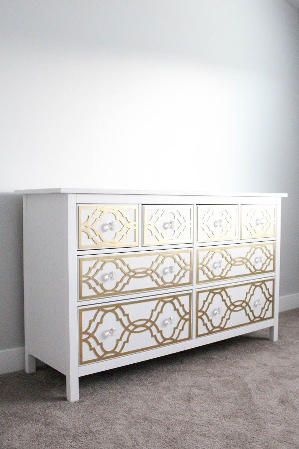 style upgrade so elegant kann die ikea hemnes kommode sein hemnes ikea hacks und hacks. Black Bedroom Furniture Sets. Home Design Ideas