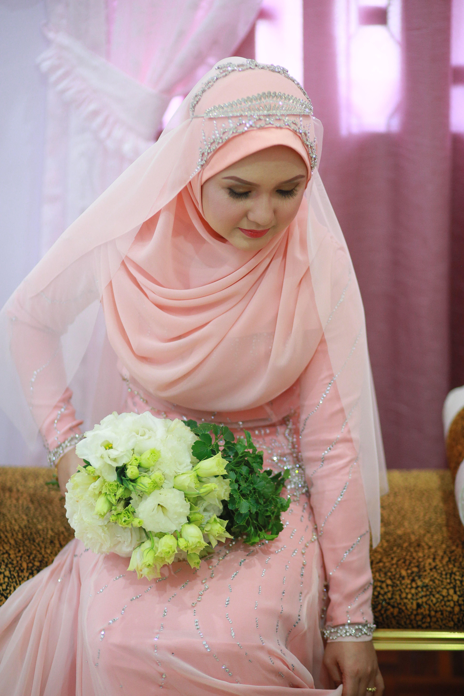 Almost Done … | Muslim wedding dress | Pinte…