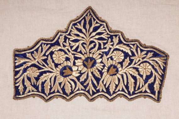 Antique Ottoman pair of  Embroidered Jacket by SOrugsandtextiles