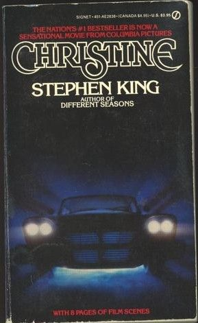 Christine My First Intro To The World Of Stephen King By My Nanny When I Was 14 Or 15 She Loved The With Images Stephen King Books Stephen King Movies Stephen King