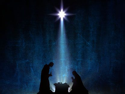 Christmas Nativity Powerpoint Backgrounds Nativity backgrounds - religious powerpoint template