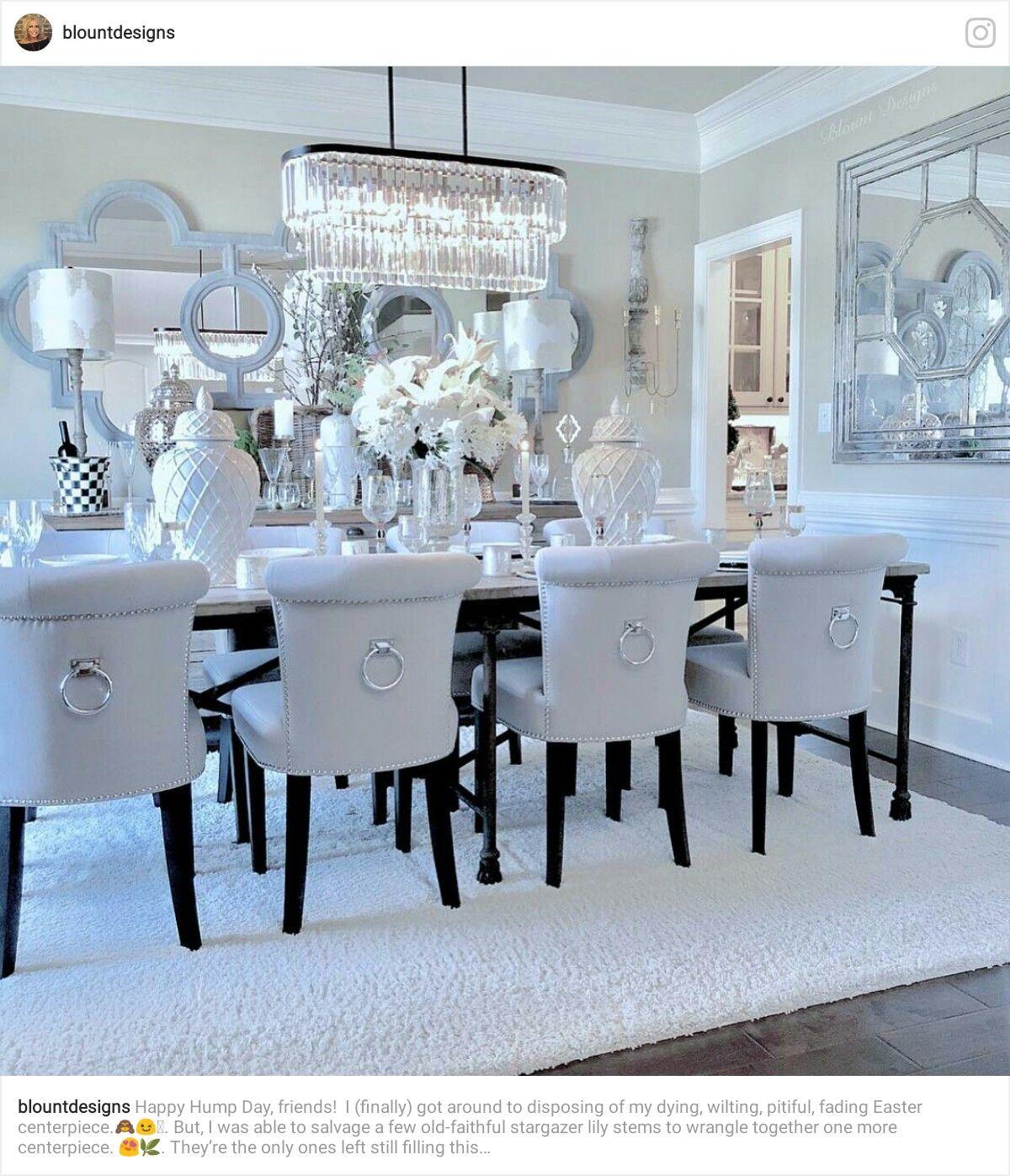 32 Elegant Ideas For Dining Rooms: Luxury Dining Room, Beautiful