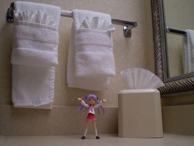 Badezimmer Handtücher ~ Hotel feature towel origami handtücher falten und handtücher
