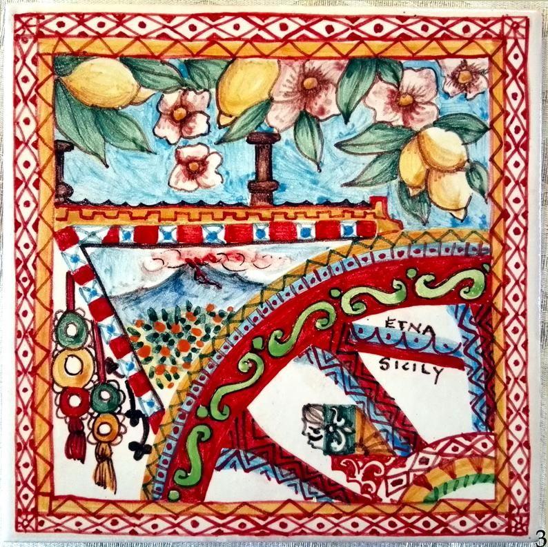 Carretto siciliano in terracotta da dipingere