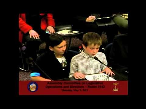 11 Year Old Dalia And Her 9 Year Old Brother Khalil Testify In