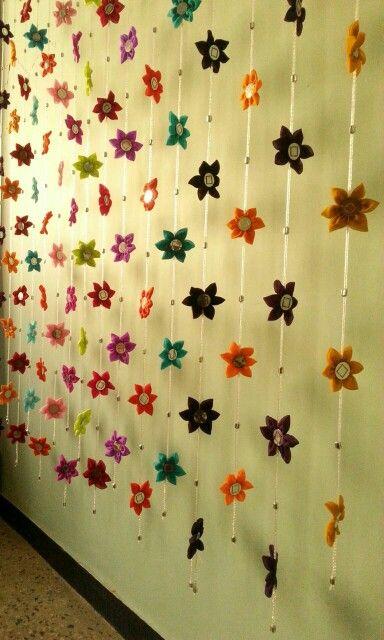 Fabric hanging toran | troan makeing | Pinterest | Fabrics ...