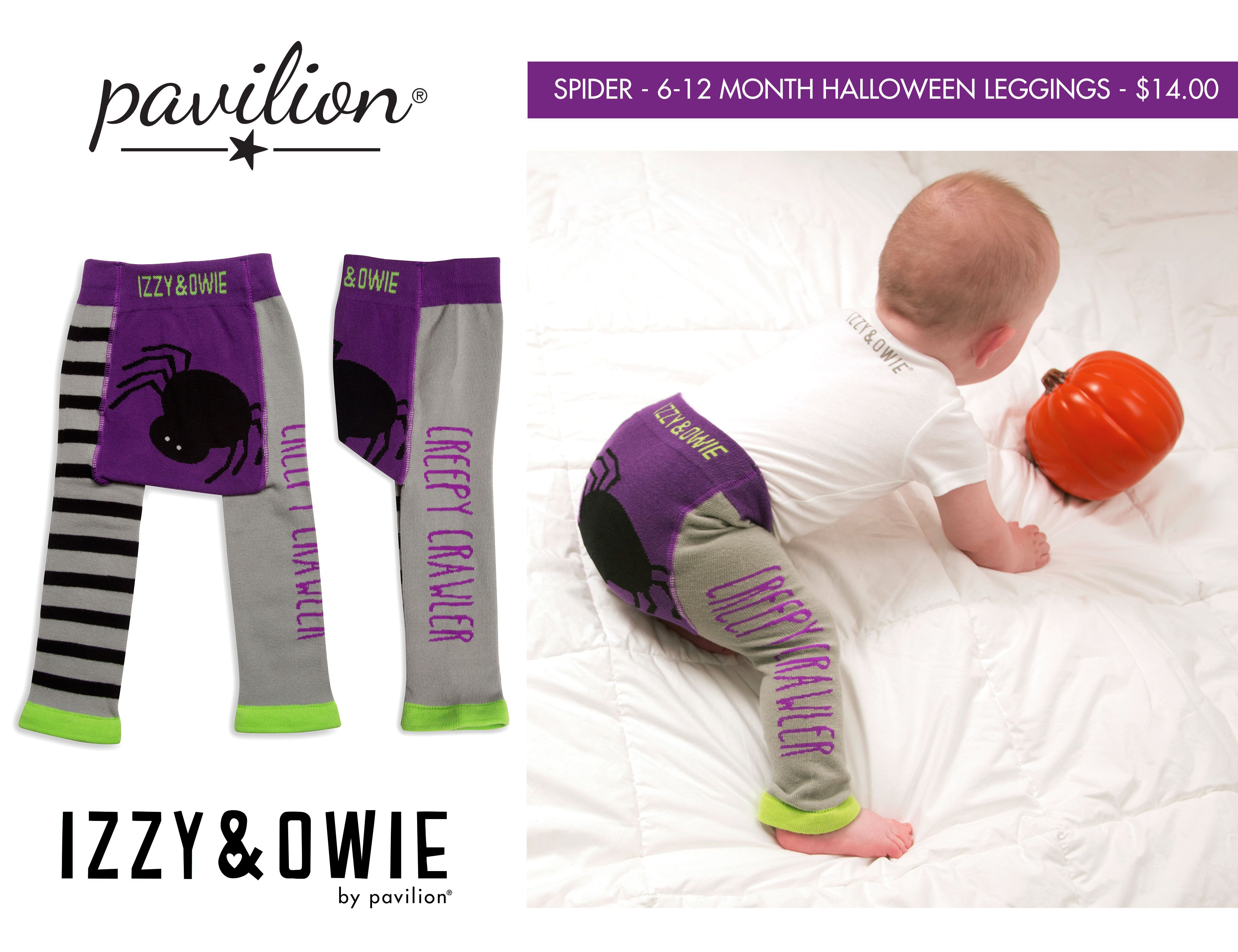 Izzy and Owie Baby-Girls Stripes Leggings