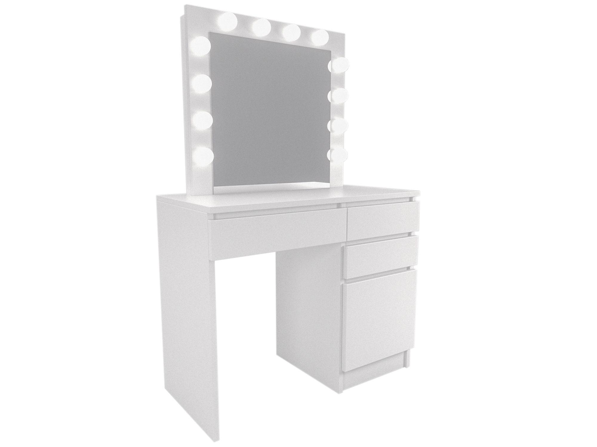 Toaletka Kosmetyczna Z Lustrem Do Wizazu Makijazu 9083717578 Oficjalne Archiwum Allegro Vanity Mirror Vanity Home Decor