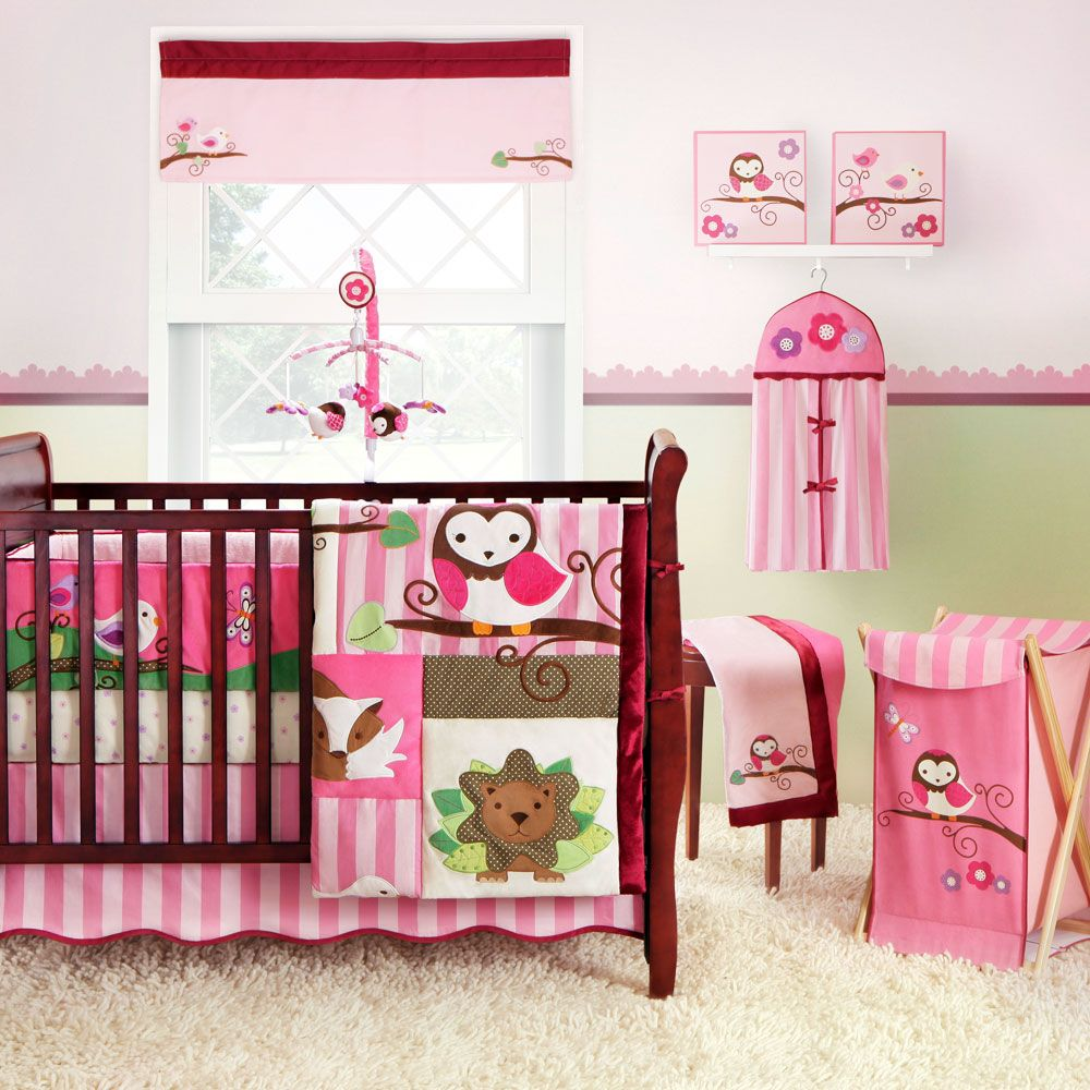 woodland baby crib bedding set | monstermarketplace | baby