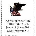 Contents:  There is an 8 page book I wrote called American Symbols that includes the American Flag, Pledge of Allegiance, Liberty Bell, Statue of...