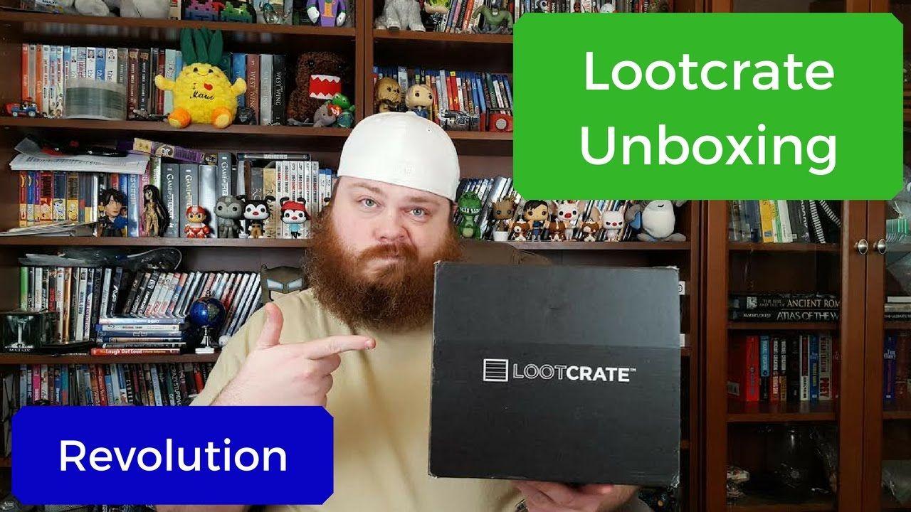 Lootcrate Unboxing - December 2016 - Revolution