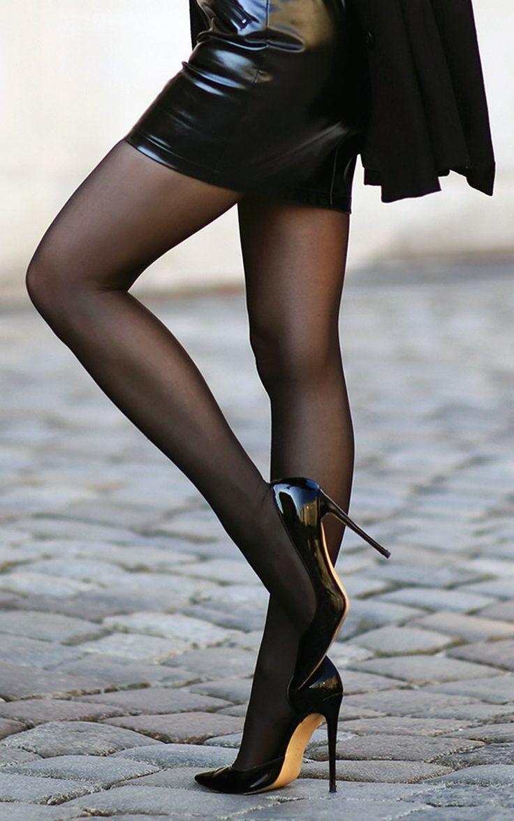 Ebony Black Stockings Anal