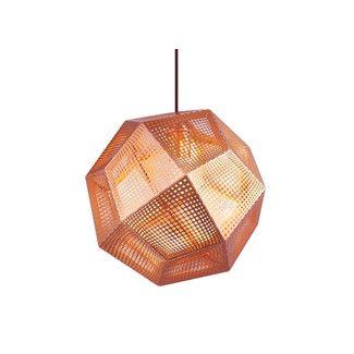 Tom Dixon Etched Pendant Hangeleuchte Kupfer Beleuchtung Anhanger Lampen