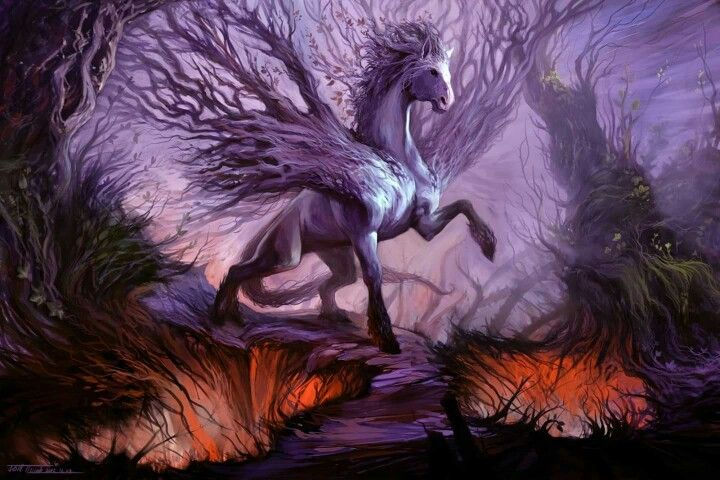 Forest steed