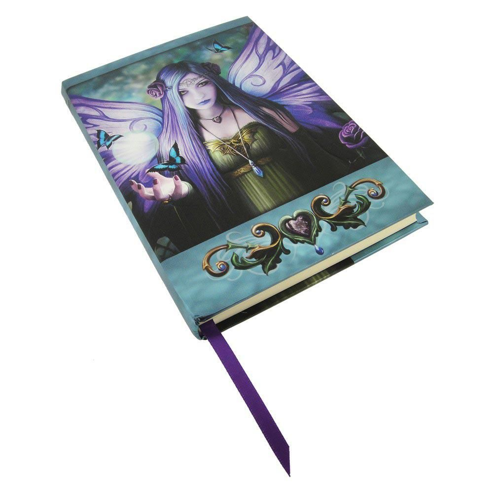 Mystic Aura Notebook/Journal Embossed journal, Anne