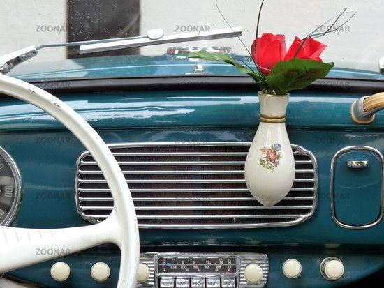 vintage flower vase & vintage flower vase | vw | Vw beetles Vase Van interior