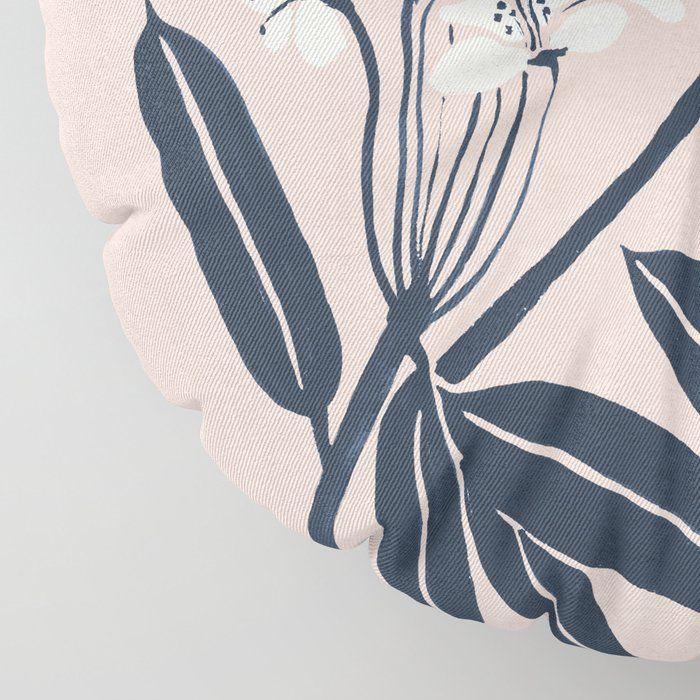 "Boho Botanica Floor Pillow by Megan Galante - ROUND - 30"" x 30"""