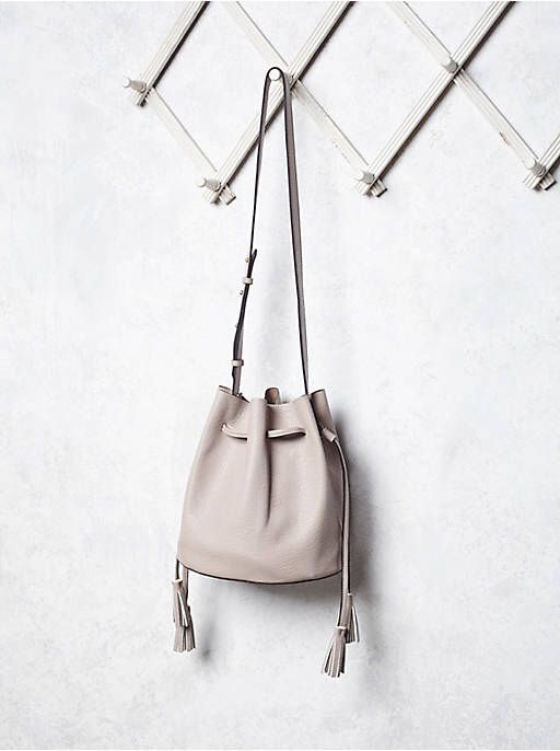 Free People Bleeker Bucket Bag, $68.00