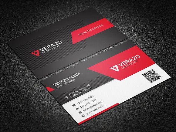 Modern stylish business card business cards premium business modern stylish business card wajeb Choice Image