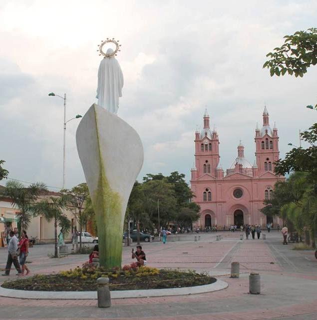 Plazuela de Lourdes.Buga