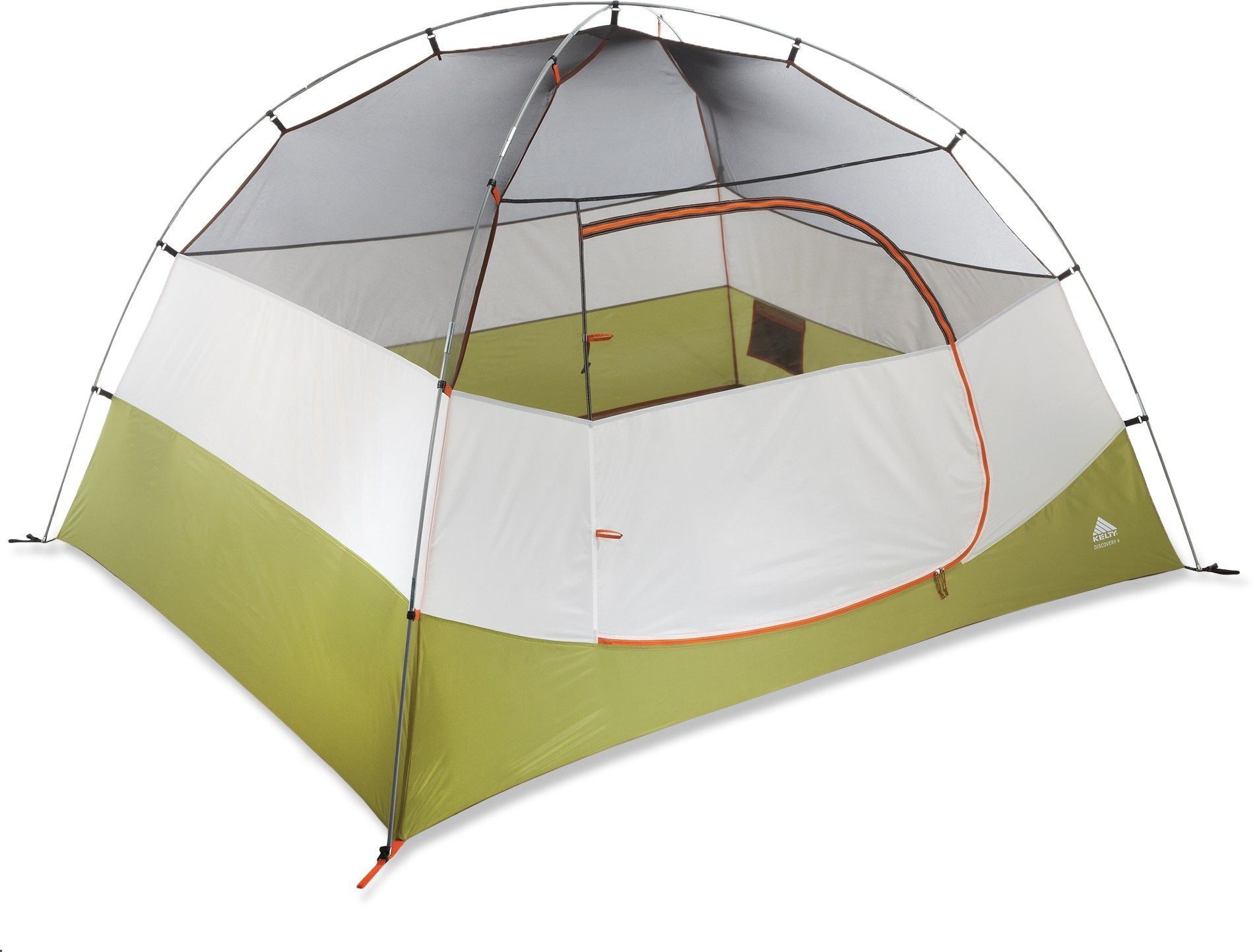 Kelty Discovery 4 Tent - REI.com  sc 1 st  Pinterest & Kelty Discovery 4 Tent Grey/Orange | Tents