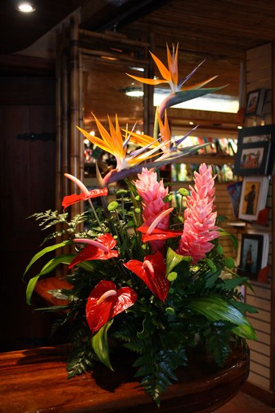 Costa Rican Flower Arrangements Large Flower Arrangements Flower Arrangements Tropical Flower Arrangements