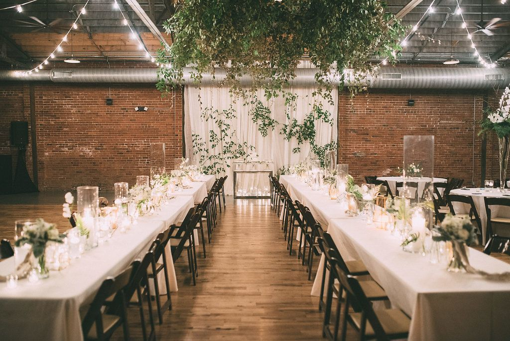 Floral Heaven At The Standard In Knoxville Tn Wedding Table