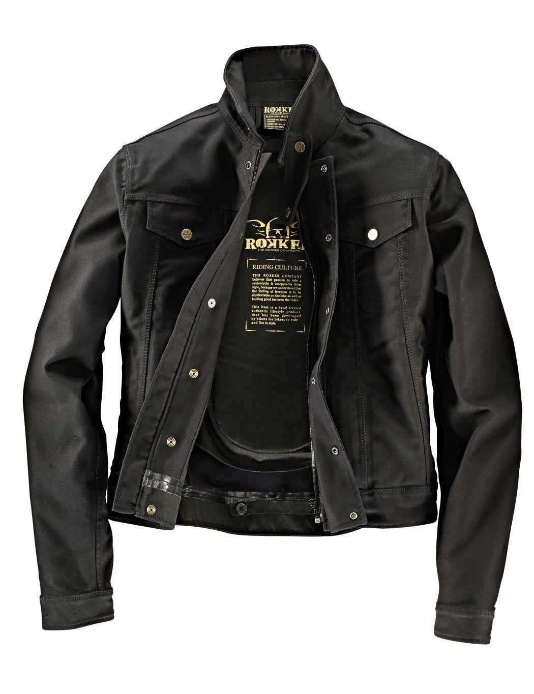 Bad&Bold - Rokker Bikerjacke Black Jacket - The Rokker Company ...