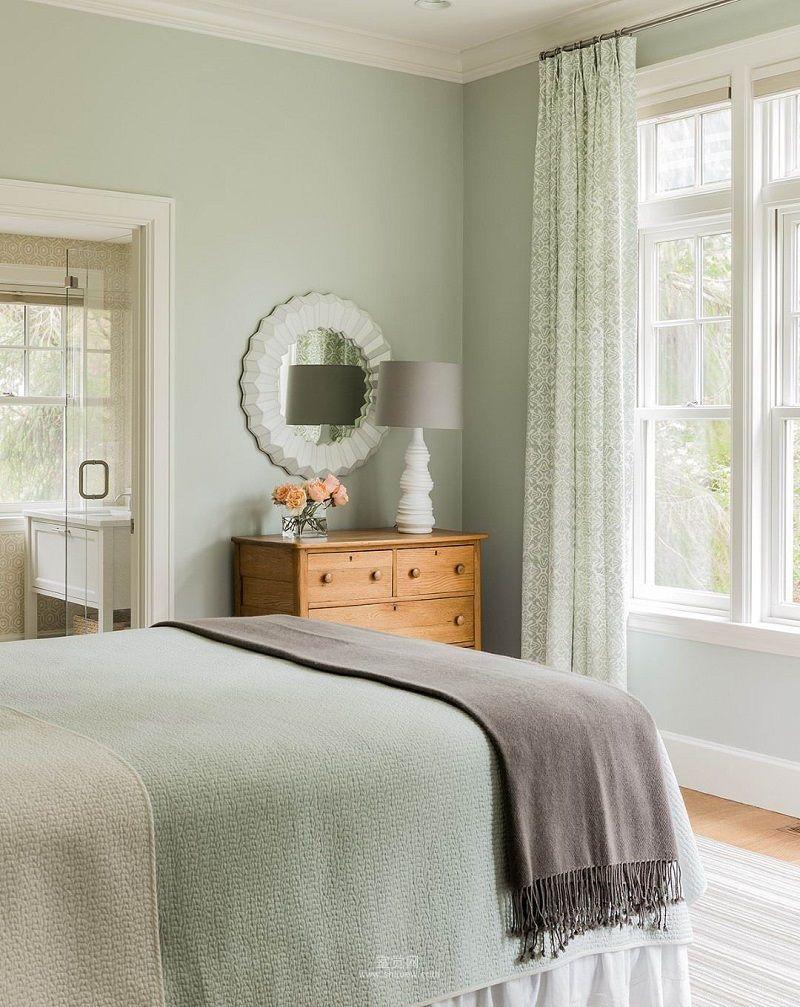 40 Bedroom Paint Ideas To Refresh Your Space For Spring Paletas De Colores Para Dormitorio Colores De Interiores Decorar Pared Habitacion