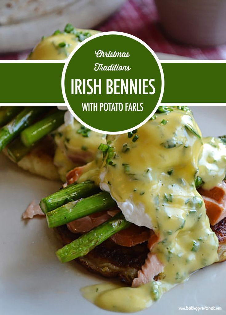 Christmas Traditions: Irish Eggs Benny & Potato Farls