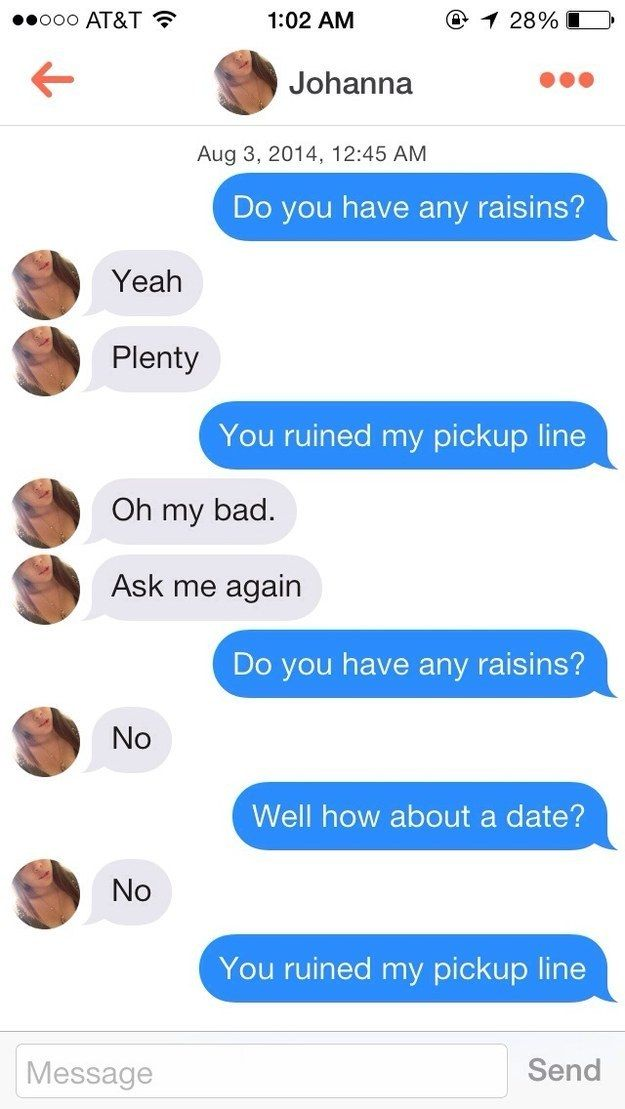 If at first you don't succeed, fail again. | 26 People Who Failed So Hard At Tinder They Almost Won
