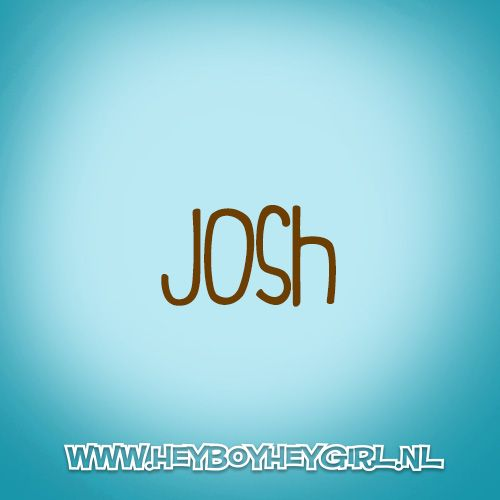 Josh (Voor meer inspiratie, en unieke geboortekaartjes kijk op www.heyboyheygirl.nl)