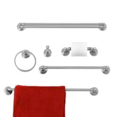 Bed Bath And Beyond Towel Rack Best Inspirations™ Sage™ Collection Brushed Nickel 24Inch Double Towel Inspiration Design