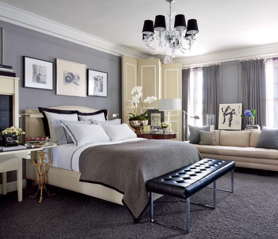Bedroom Ideas Blue Black And White | Romantic bedroom design ...