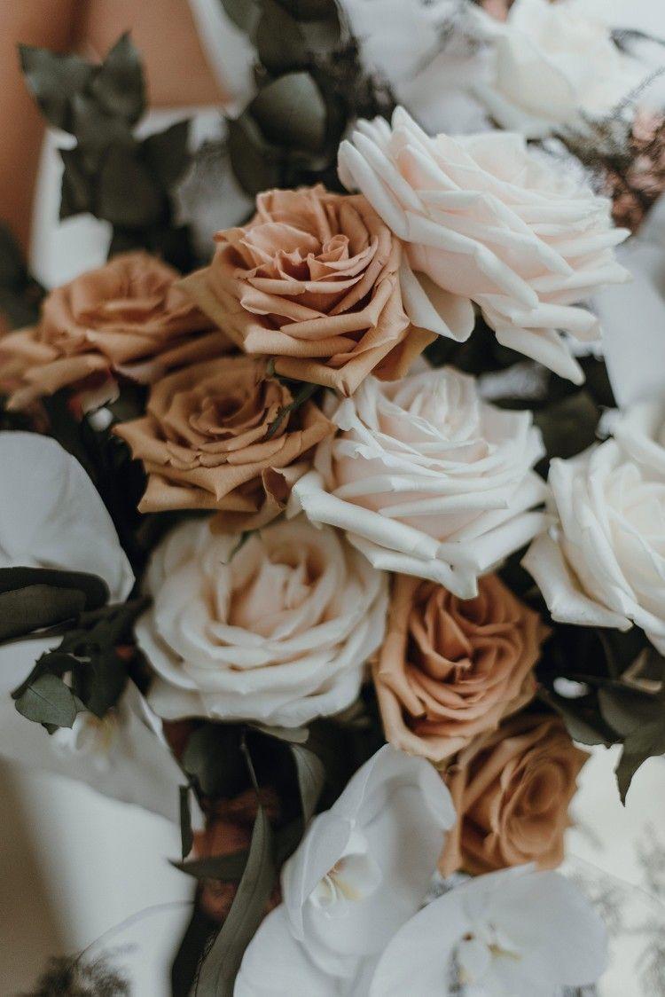 TOFFEE & CREAM ROSE BOUQUET HEAVEN