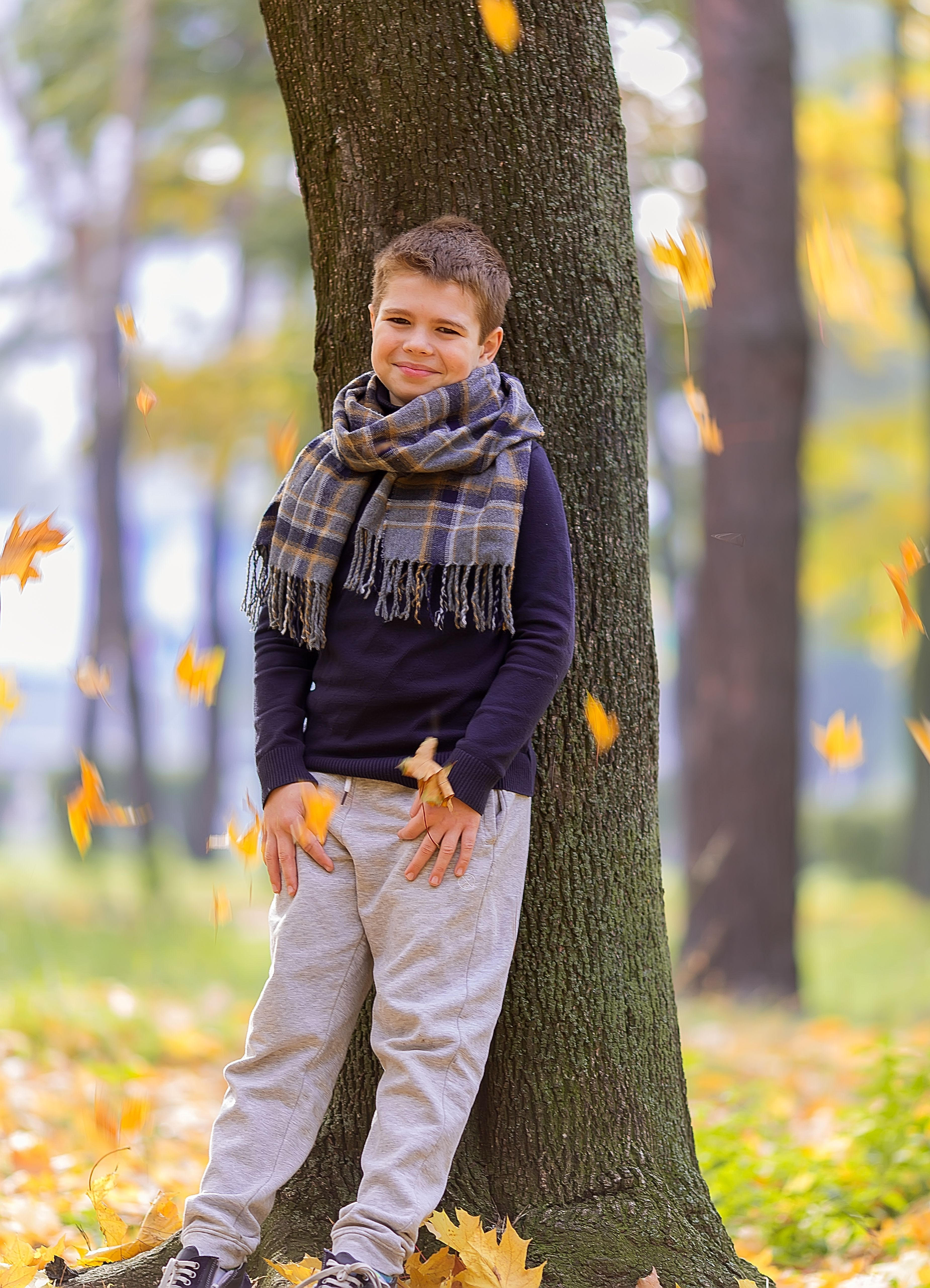 Золотая осень - фотосессия в парке   Children photography ...